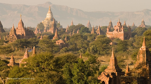 16:9 Landscape Wallpaper (36) - Bagan, Myanmar