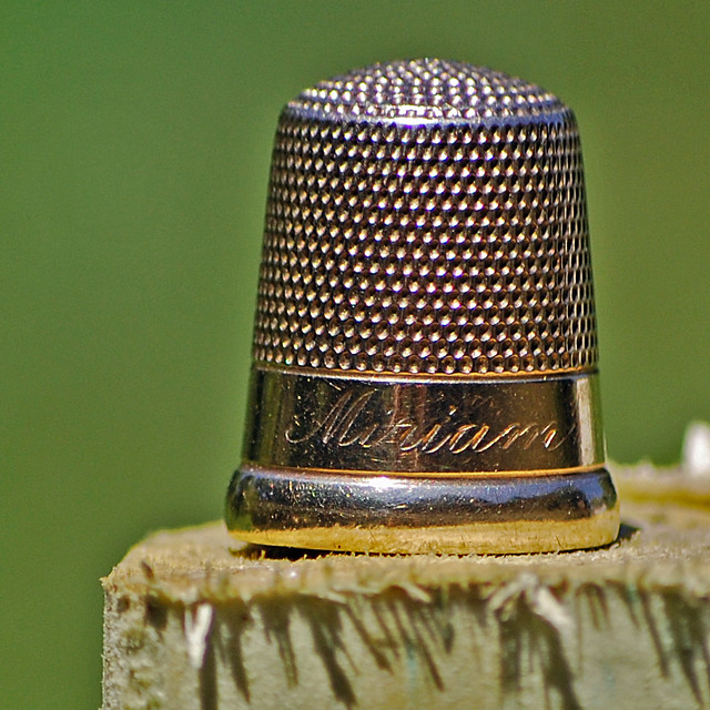 Grandmother's Gold Thimble