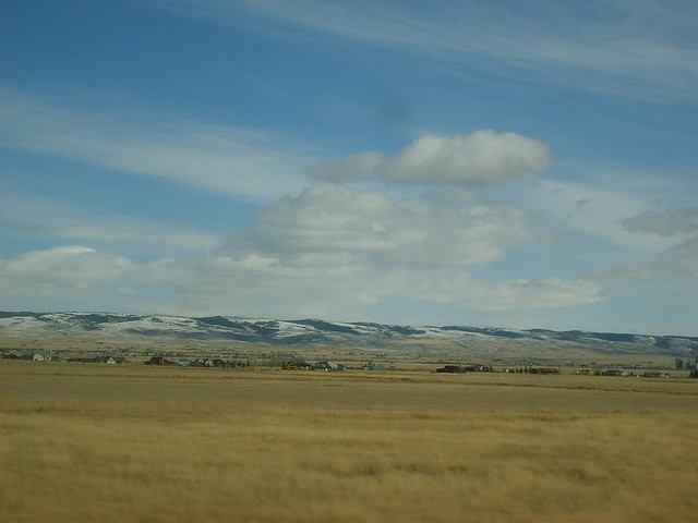 Plains near Laramie