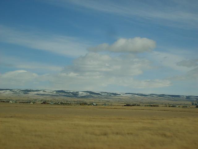 Plains near Laramie