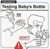 Testing Bottle