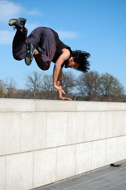 parkour wall flip - photo #19