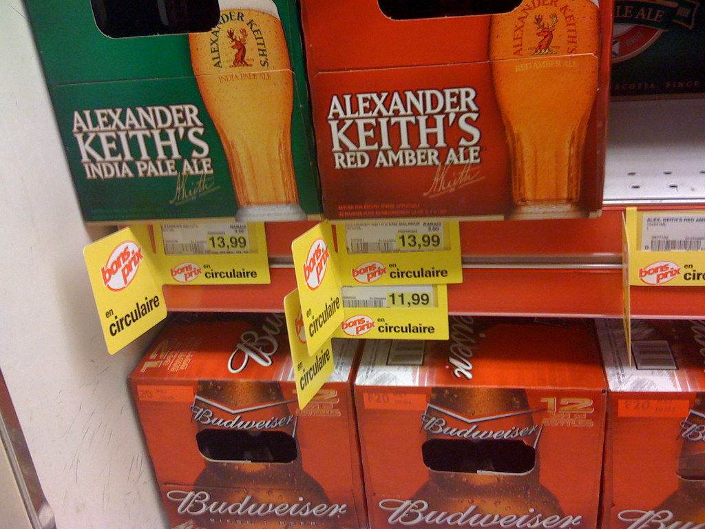 Cheap Canadian beer!