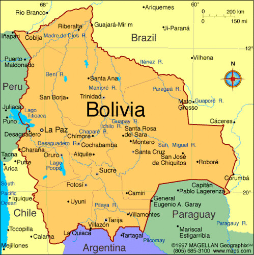 Natural Resources Bolivian Economy