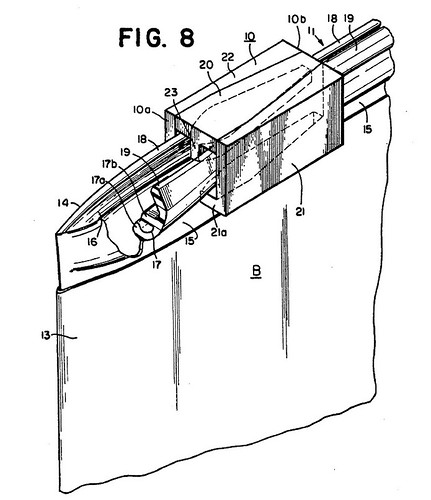 ziploc rolling action zipper