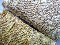 shredded wheat closeup