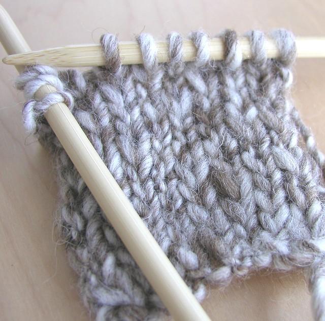Knitting Handspun Yarn : Trial knitting shetland humbug handspun yarn flickr