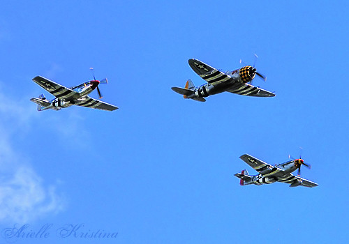 WWII Weekend | Mustang Fighter Planes