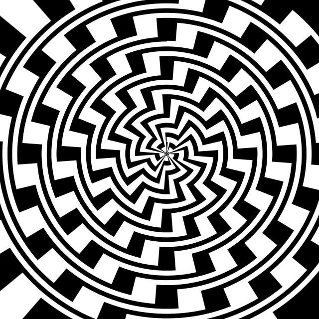 Op-art Spiral