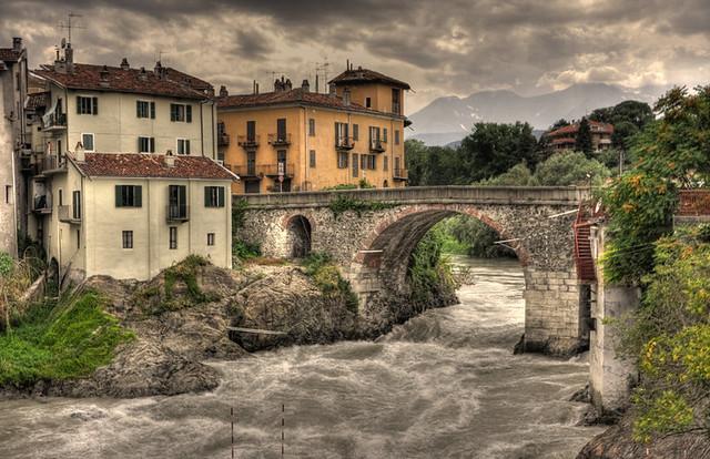 hdr old bridge and - photo #12