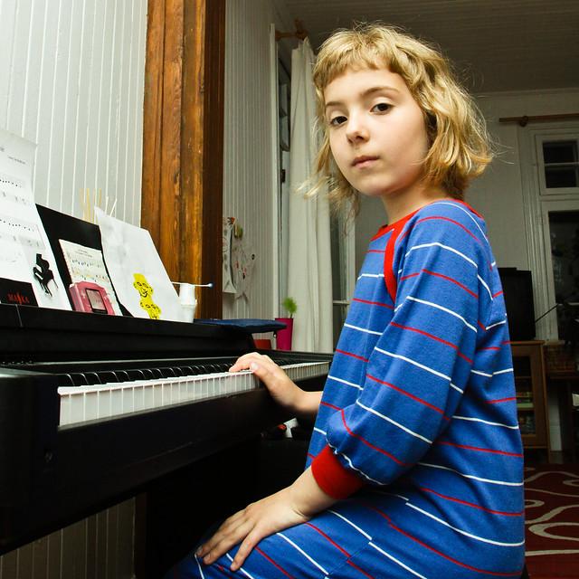 La belle pianiste