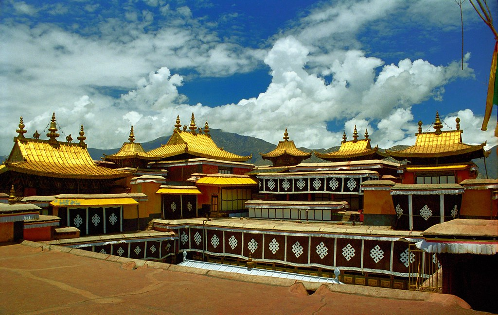 Rooftop of the Potala Palace  ???????????