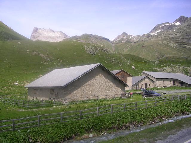 Farm in Julier Pass