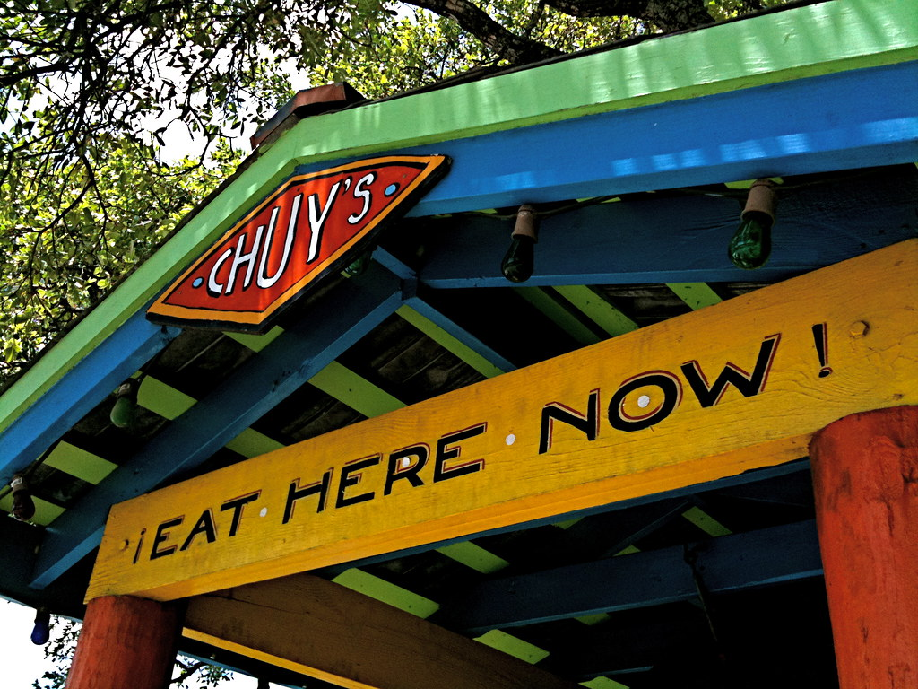 Chuy's Eat Here Now!
