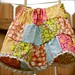 patchwork twirl skirt for girls