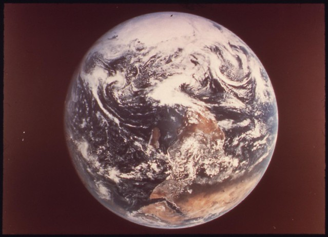 Earth, as Seen by Astronauts Eugene Cernan, Ronald Evans ...