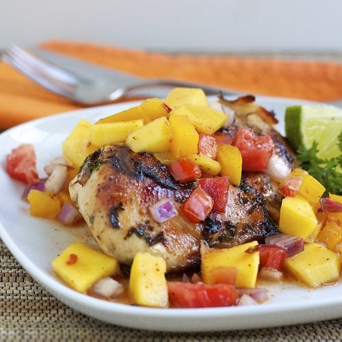 烤肉健康吃 旺蒜烤肉醬、柚香烤肉醬、芒果莎莎醬最對味