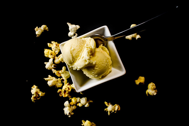 Buttered popcorn ice cream | Flickr - Photo Sharing!