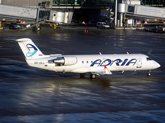 S5-AAJ Adria Airways Canadair RJ-200ER