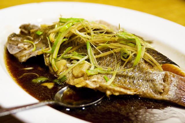 steamed fish with ginger scallion soy sauce | Flickr - Photo Sharing!