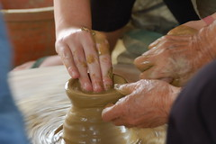 hand, art, finger, pottery, potter's wheel, limb, leg,