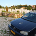 Small photo of Sarajevo - EUFOR car at cemetery