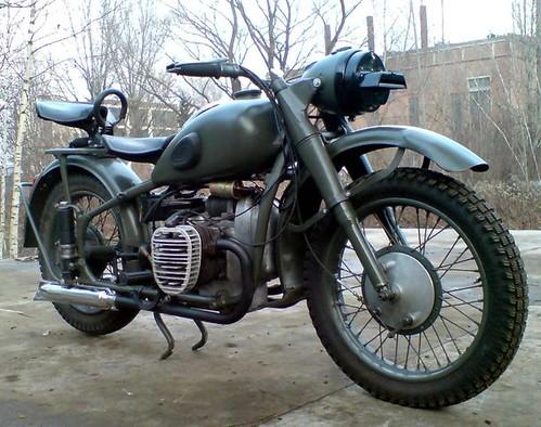 M72 BMW R71 1954