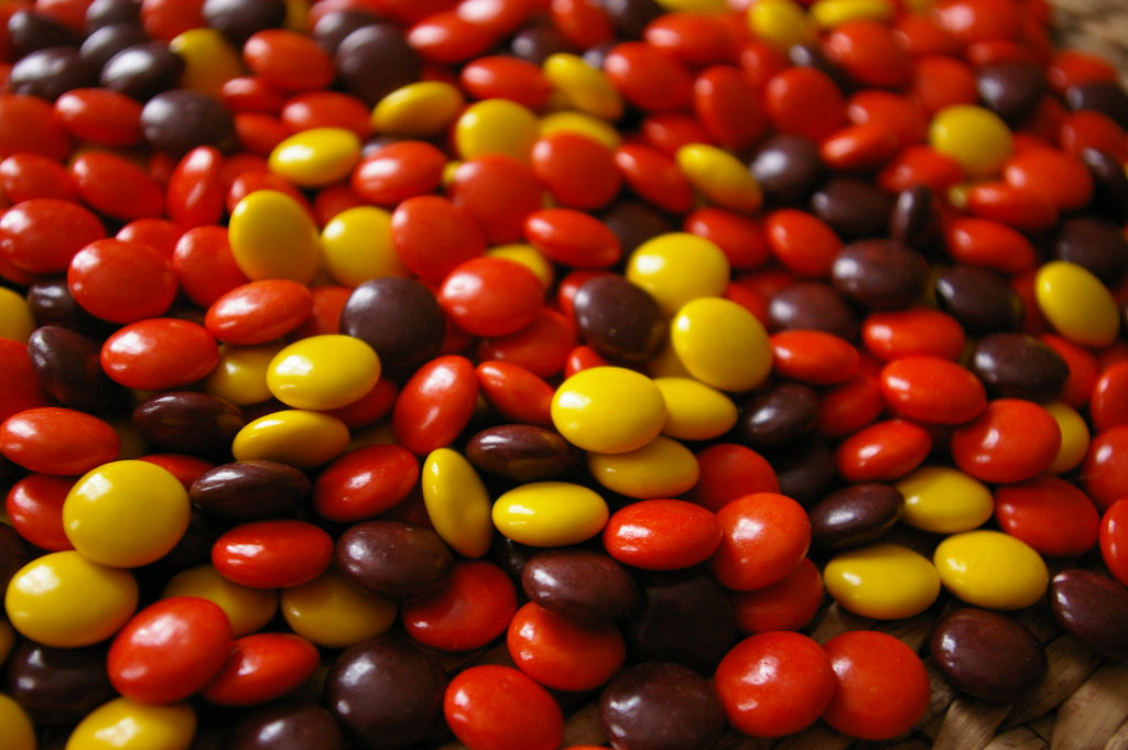 Reese's pieces candy Candies