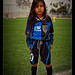 Young soccerplayer in LA