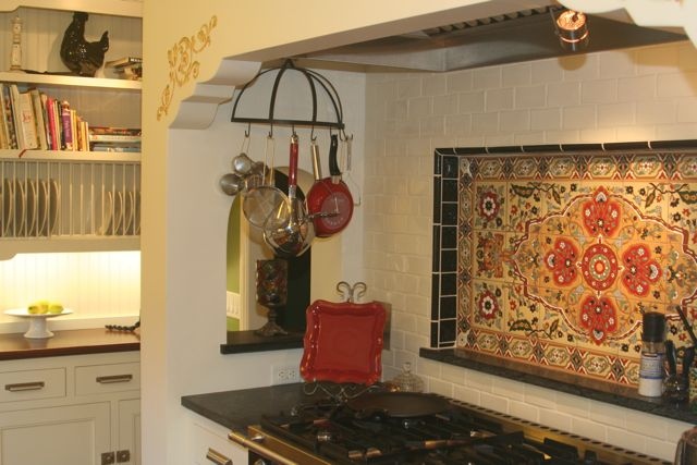 Spanish style backsplash can you share your photos for Spanish style kitchen backsplash