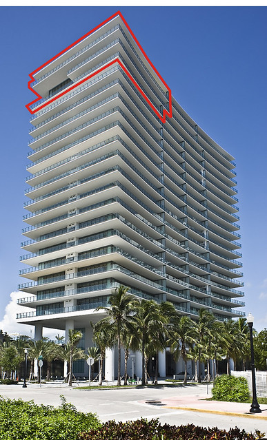 Super-Flip: Apogee South Beach Penthouse Re-listed for $13.5M MORE Than $11.5M Paid. South Beach Penthouse Report