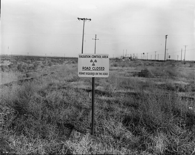 1954 RADIATION ROAD SIGNS