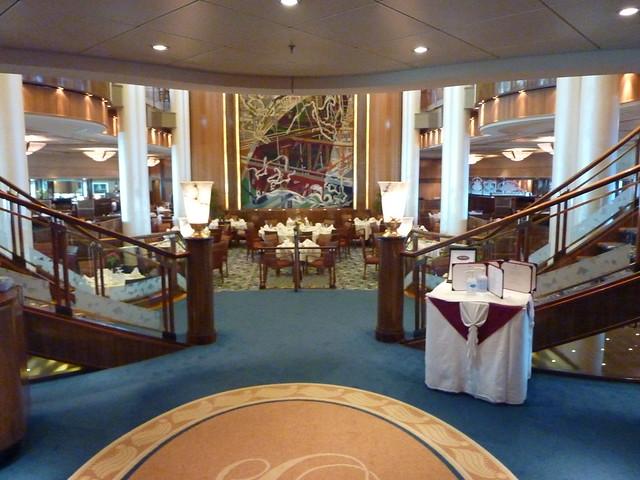 Britannia Cunard Room Service
