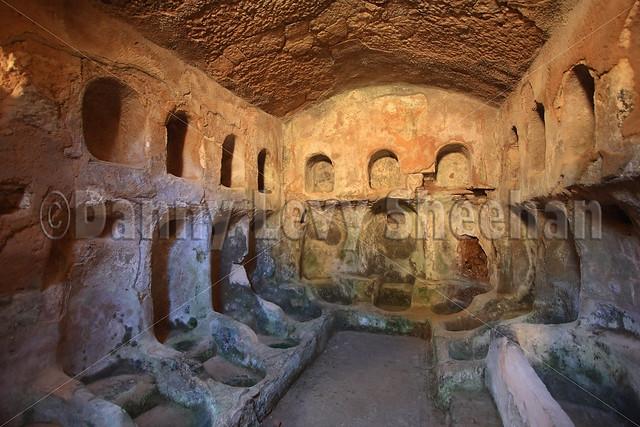 Ancient Underground Greek Baths At Cyrene Libya Flickr Photo Sharing