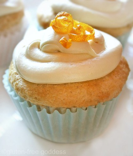 Vegan Orange Creme Cupcakes