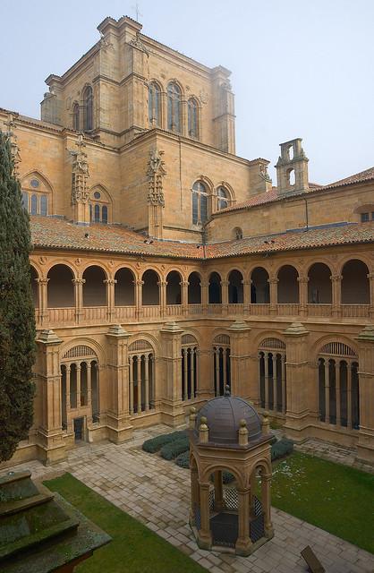 Iglesia-Convento de San Esteban: Cloister  Explore Dmitry ...