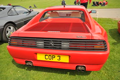 race car, automobile, vehicle, performance car, automotive design, ferrari 348, ferrari testarossa, ferrari s.p.a., land vehicle, supercar, sports car,