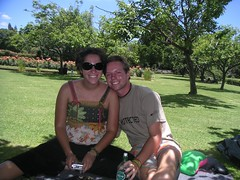 me and shelby in park - 1