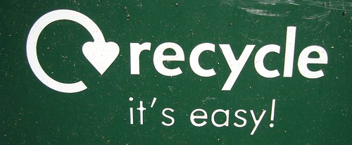 Recycle Logo From Recycling Bin