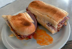 sandwich, meal, lunch, breakfast, submarine sandwich, ham and cheese sandwich, ciabatta, meat, food, dish, cuisine,