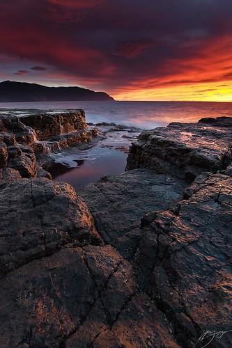 ocean light sea sky seascape seaweed nature water rock sunrise landscape coast nikon shoreline kelp tasmania soe wondersofnature abigfave platinumphoto anawesomeshot d700 nikond700 platinumpeaceaward daarklands yourwonderland