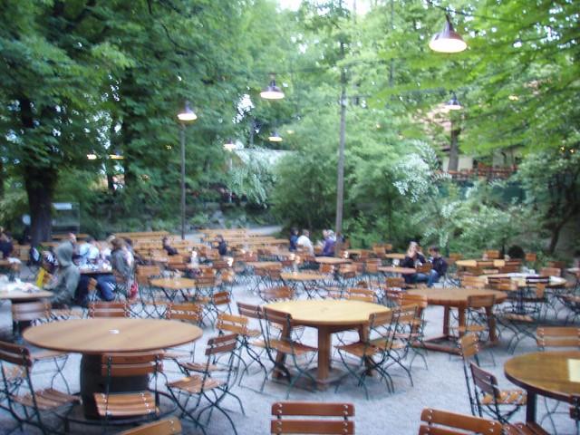 Augustiner Beer Garden - Munich, Germany