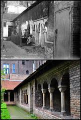 Jacob Olie, kloostergang Mariakerk Utrecht 1902 ~ 2009