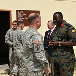 Senior Ugandan general meets with U.S. Army Africa leaders; continues cooperative partnership - 20100429