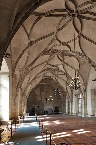 The Old Royal Palace: Vladislav Hall, Prague Castle