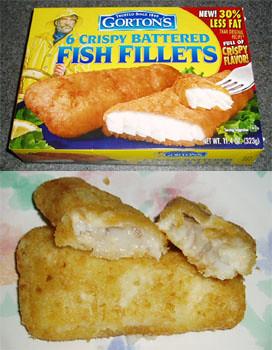 Gordon 39 s fisherman frozen battered breaded fish fillet 39 s for Gordon fish sticks