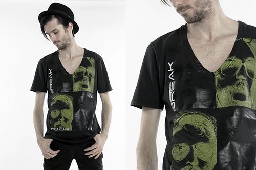 Deep V-Neck T-Shirt