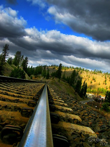 railroad train canon point landscape outdoors track view 110 gimp rail powershot rails vanishing atom orton sx110 canonsx110is sx110is canonpowershotsx110is canon110sxis