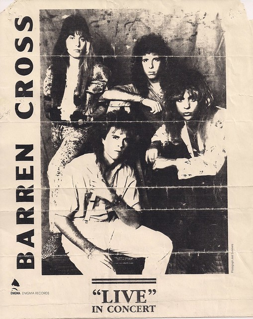 03/29/88 Barren Cross @ Duluth, MN (Flyer)