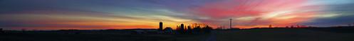 Sunrise in Waldo, WI